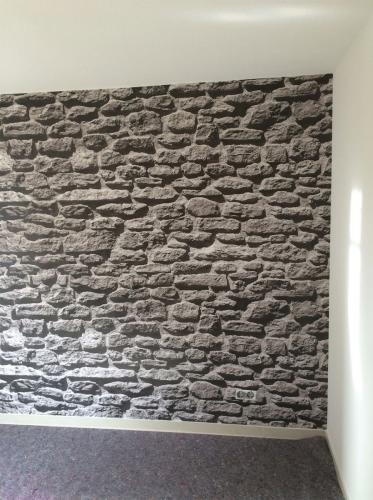 Steintapete, große Steine